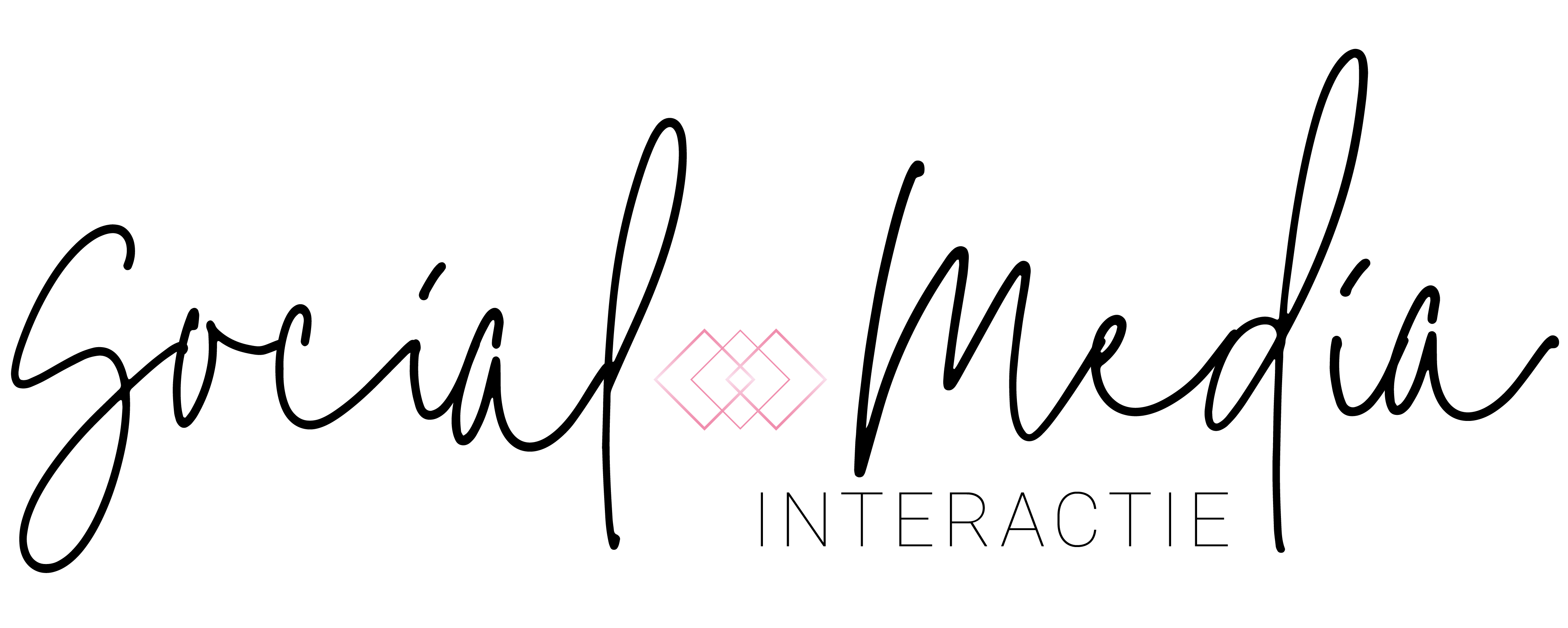 Social Media Interactie Logo Design | Fiona Gobbo Creative | Brand design for a rebranding for an online marketing agency that focuses on female entrepreneurs