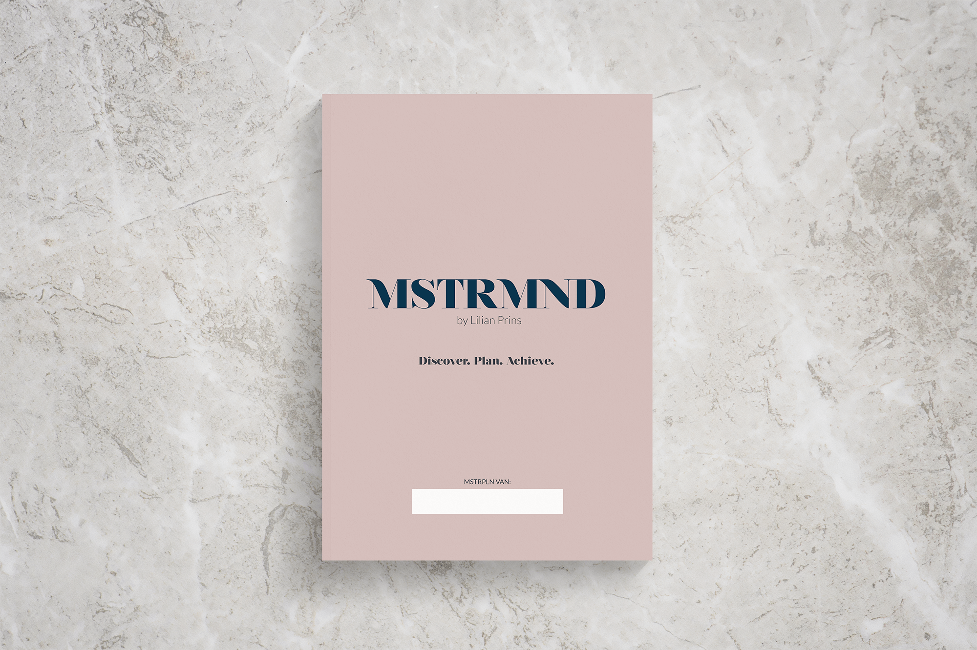 MSTRMND workbook | Fiona Gobbo Creative | Workbook for the mastermind workshop in Amersfoort