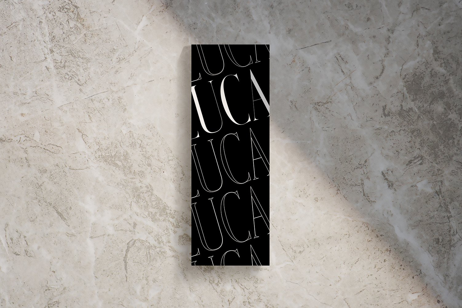 Da Luca Menu | Fiona Gobbo Creative | Italian restaurant menu design for Da Luca