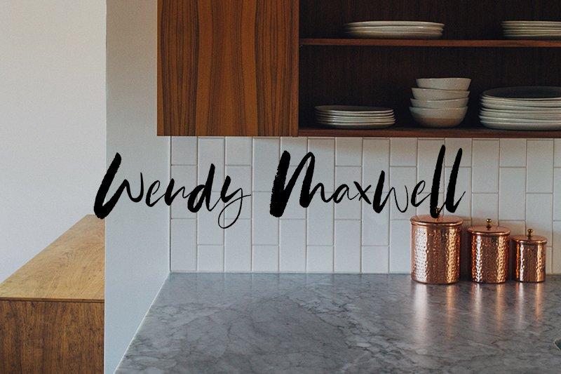 Wendy Maxwell logo rebranding | Fiona Gobbo Creative | Logo rebranding for personal organizer