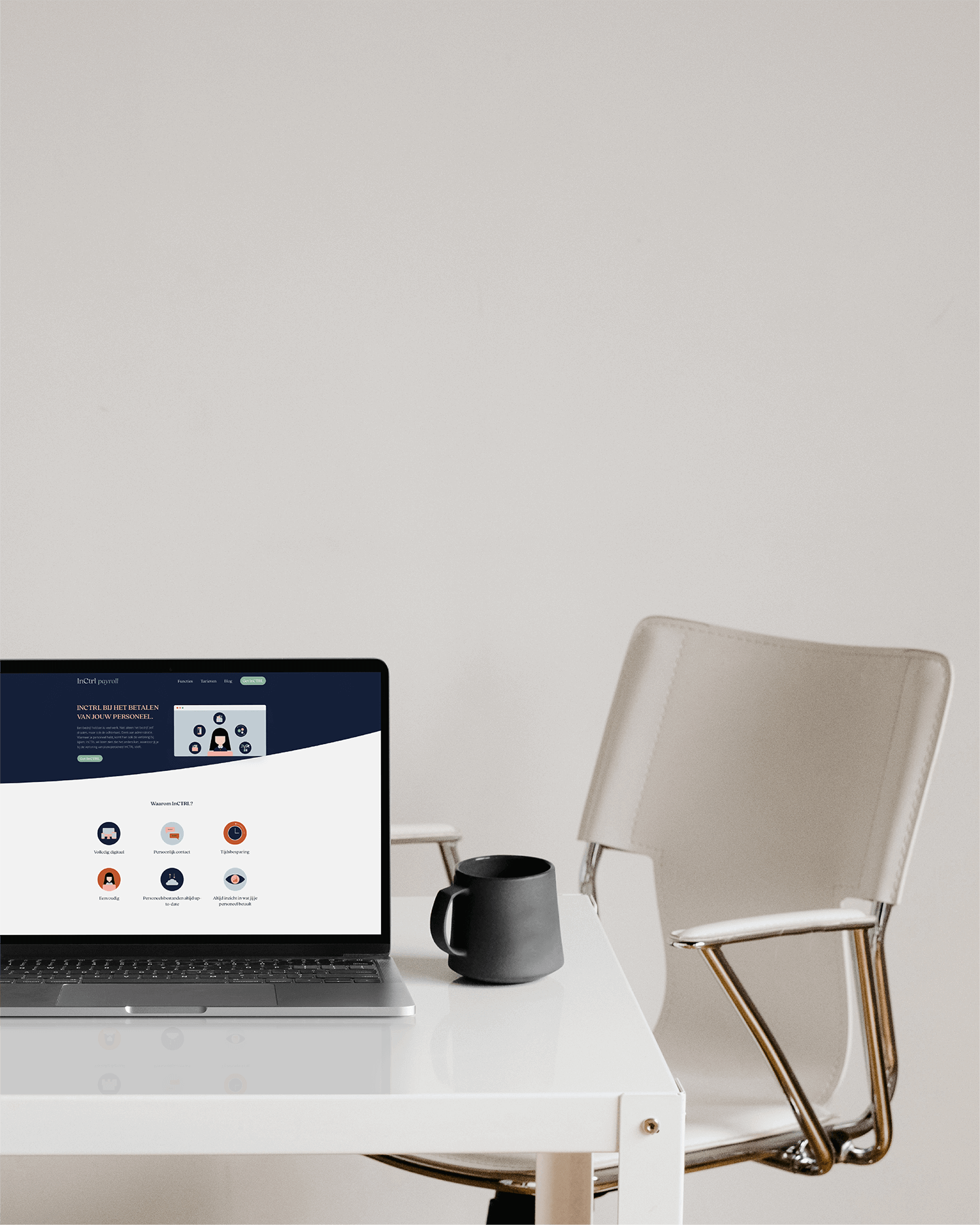 InCTRL Corporate brand Identity | Fiona Gobbo Creative | InCTRL website
