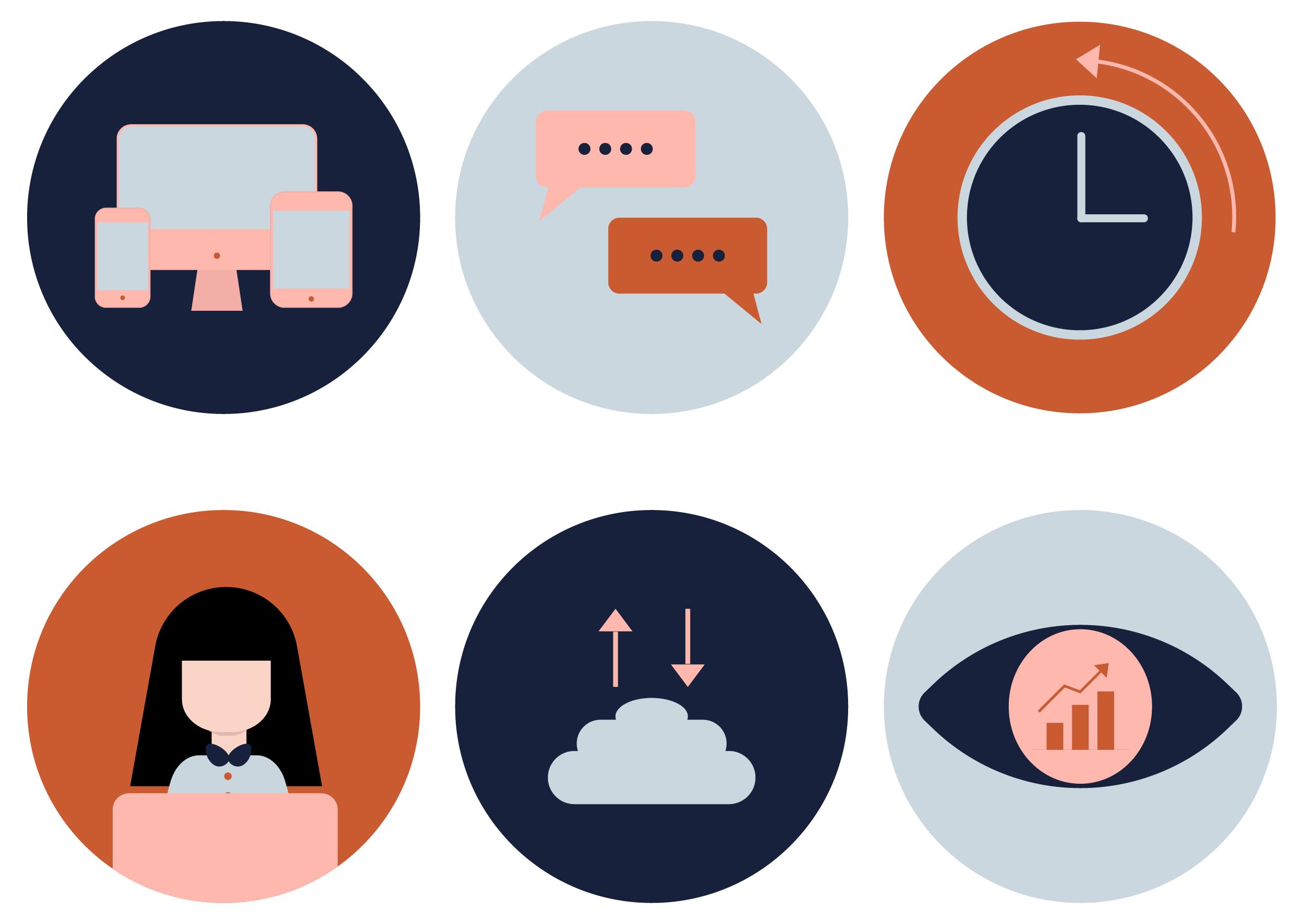 InCTRL BRAND IDENTITY | Fiona Gobbo Creative | InCTRL Finance icons