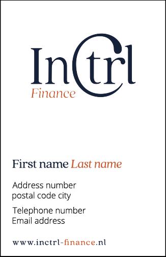 InCTRL BRAND IDENTITY | Fiona Gobbo Creative | InCTRL Finance business card