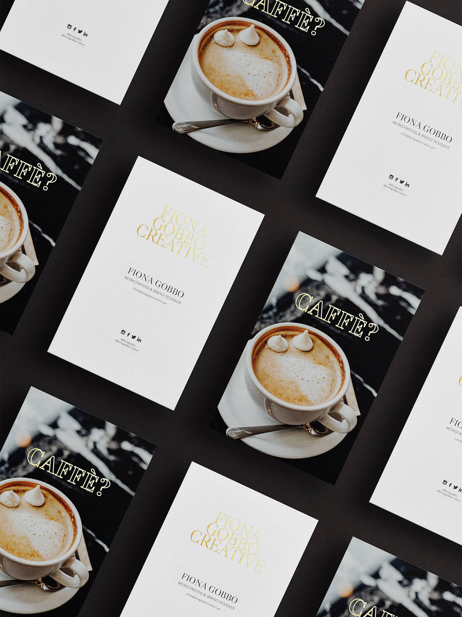 Luxury Brand Identity | Fiona Gobbo Creative | Collateral materials to (re)build your luxury brand