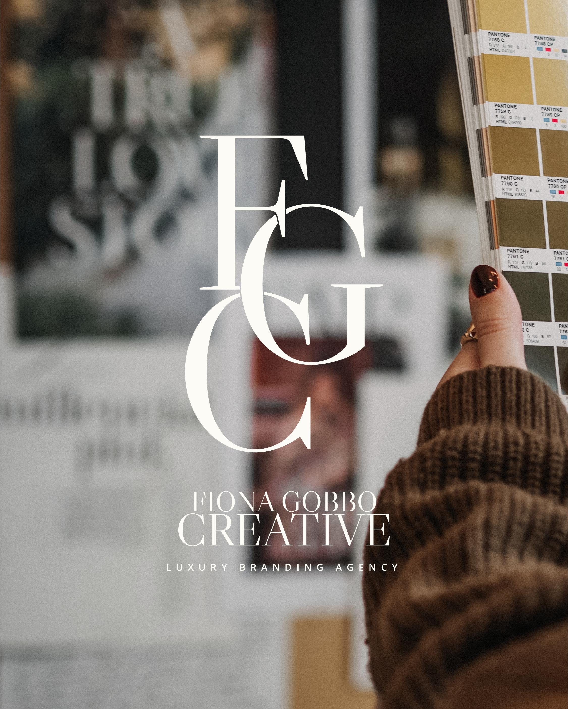 Huisstijl ontwerp service | Fiona Gobbo Creative | Branding design voor ambitieuze high-end onderneemsters die al een strategie heeft voor haar nieuwe merk